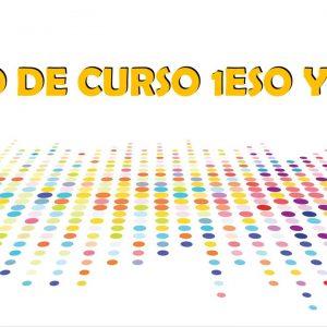 INICIO DE CURSO 1ESO Y 2ESO